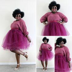 fuschia | ultimate femme #howtowearatutu #plussizetutu #tutu  http://www.lion-hunter.com/categories/the-tutu-experience/