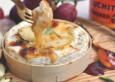 This baked camembert is both super-easy and incredibly tasty. Smoked chilli honey and cheese is a match made in heaven.