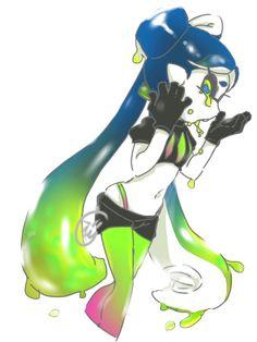 Splatoon 2 Game, Nintendo Splatoon, Splatoon Comics, Splatoon Squid Sisters, Callie And Marie, Video Games Girls, Squid Games, Monster Girl, Animal Crossing