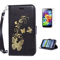 Yrisen 2in 1 Samsung Galaxy S5 Tasche Hülle Wallet Case S…