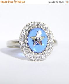 30% OFF Order of the Eastern Star - Ladies Gold Mason Ring Size 9 by LadyLibertyGold on Etsy https://www.etsy.com/listing/254147348/30-off-order-of-the-eastern-star-ladies
