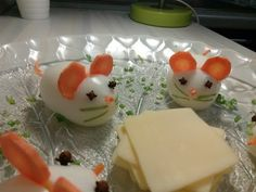 """ЯЙЦА ФАРШИРОВАННЫЕ """" МЫШКИ"""" // EGGS FILLED """"MOUSE"""" - YouTube Egg Salad Sandwiches, Egg Decorating, Chinese New Year, Finger Foods, Pudding, Eggs, Breakfast, Desserts, Recipes"""
