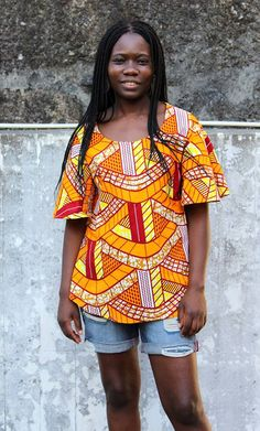 Kitenge, African Fashion, Blouse, Women, African Textiles, Outfits, African Prints, Women's, Blouses
