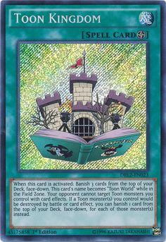 TOON KINGDOM HOLO YUGIOH CARD