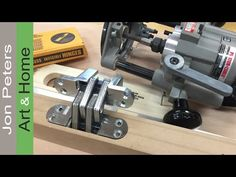 How To Hang a Door with Soss Invisible Hinges - YouTube