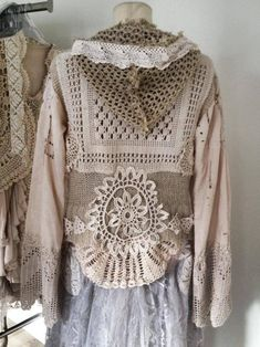 Altering Clothes, Embroidery Patterns Free, Crochet Fashion, Crochet Top, Bohemian, Sewing, Lace, Fashion Design, Collection