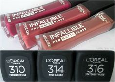 New at the Drugstore: Burts Bees, Physicians Formula, Milani, & Loreal // Mini review of Infallible Pro-Matte Gloss // FromMyVanity.com