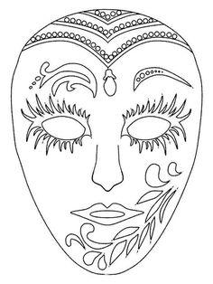 Moldes de Máscara de Carnaval 2017 (+ de 30 Modelos para Imprimir)