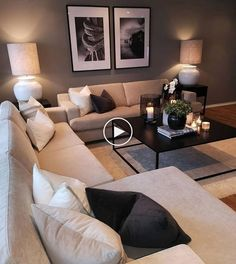 Keep up to date with the latest small living room decor ideas (chic & modern). Find good ways to get stylish design even if you have a small living room. Small Living Rooms, Home Living Room, Apartment Living, Living Room Decor, Modern Living, Cozy Apartment, Minimalist Living, Tiny Living, Simple Living