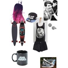 Dan And Phil Radio 1: May the Fourth Be With You by thissillykitty on Polyvore