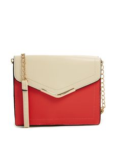 New Look Structured Colour Block Across Body Bag