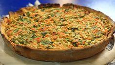 Tarta de verduras apta para celíacos