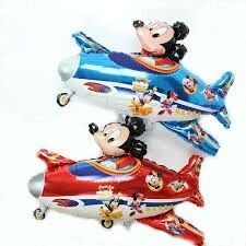 Mickey fly a Plane Foil balloons Birthday Party Decorations Kids Cartoon Airplanes Shape Weddding Party Classic Toys Kids Party Decorations, Party Themes, Wedding Decoration, Balloon Toys, Air Balloon, Mickey Mouse Theme Party, Cartoon Airplane, Party Suppliers, Foil Balloons
