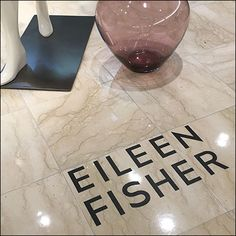 Eileen Fisher introduces herself here as floor graphic, so that you know just…