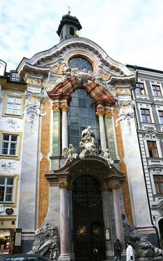 Asamkirche in MUNICH is an 18th-century Baroque and Rococo church built by the Asam brothers