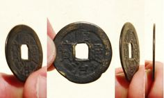 The front (obverse) side of a 'Shun Zhi Tong Bao' (顺治通寶) 1 cash coin cast during the reign of Emperor Shunzhi (1644-1661 AD). The reverse left side of this coin features the Manchu character ('Boo'), followed on the right side with Manchu character for Yunnan (雲), indicating this coin was cast at the Yunnan Mint, located in Yunnan Province.   25mm in size; 3 grams in weight.