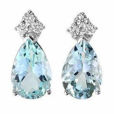 8.08 Ctw Aquamarine and Diamond Earrings in 14k Gold Passion Gems http://www.amazon.com/dp/B00AKJ67KS/ref=cm_sw_r_pi_dp_lZe0tb1Z0JTPX0FS