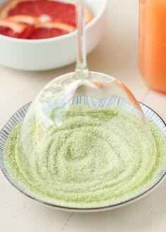 Grapefruit Green Tea Sake-tinis | Thirsty For Tea