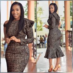 Beautiful African Fashion dresses - Hephzee Source by NZDesignOutfitsforWork fashion dresses African Fashion Ankara, Latest African Fashion Dresses, African Dresses For Women, African Print Dresses, African Print Fashion, African Attire, Africa Fashion, African Traditional Dresses, Black Women Fashion