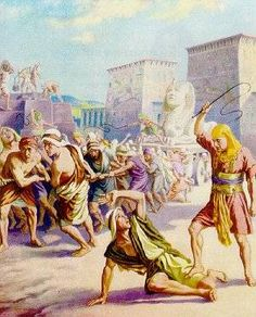 MEMORY VERSE: And the Egyptians made the children of Israel to serve ...