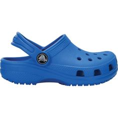 208245f6cc7db Crocs Kids  Classic Clogs (Blue Bright