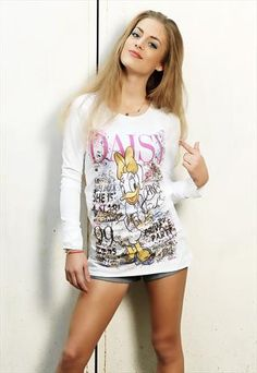 """Disney Couture """"Daisy Party"""" Top 
