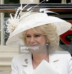 Camilla Parker Bowles during The Royal Wedding of HRH Prince Charles And Camilla Parker Bowles...