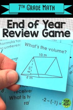 I love this game for reviewing 7th grade math standards at the end of the year! Quiz Quiz Trade gets students talking about the math they have learned and helping each other figure problems out. Fun Math Activities, Math Resources, Math Enrichment, School Resources, Math Games, Seventh Grade Math, Common Core Math Standards, Math Classroom, Future Classroom