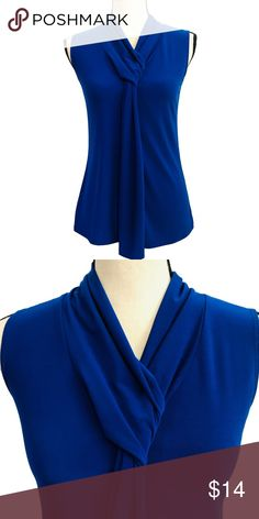 bb439ee7 American City Wear Royal Blue Top American City Wear Royal Blue Top Very pretty  with knot