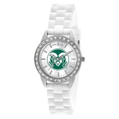 Women's College Game Time Colorado State Frost Watch - White, Colorado State University