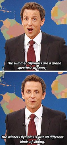 Saturday Night Live, SNL - Winter Olympics in a nutshell