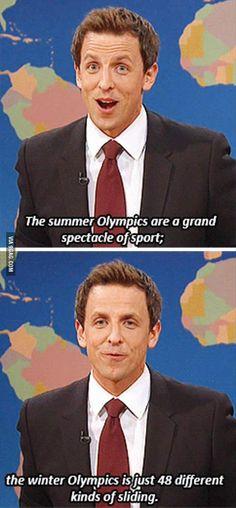 Saturday Night Live, SNL - Winter Olympics in a nutshell