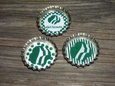 Girl Scouts Magnets -