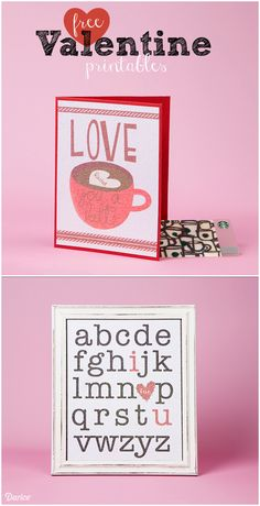 When used with Core'dinations Glitter Prints paper, these free valentine printables can be printed at home to create the perfect Valentine's gifts!