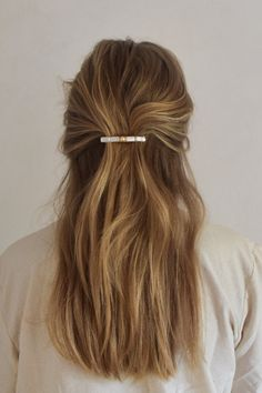Everyday Hairstyles, Messy Hairstyles, Pretty Hairstyles, Beach Hairstyles, Wedding Hairstyles, Hair Inspo, Hair Inspiration, Aesthetic Hair, Dream Hair