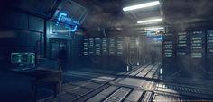 [CE3] Sci-Fi Server Room - Polycount Forum