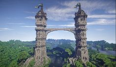 The Twins Medieval Towers Map (1)