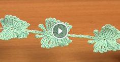Videolu, Örgü Kelebek Perde Yapılışı