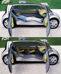 Renault concept car-talk about living in ur car