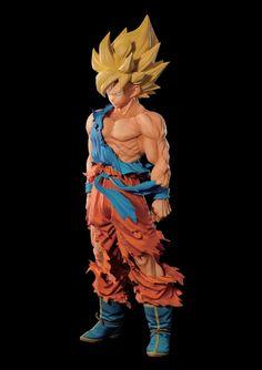 Master Stars Piece Supreme Super Saiyan Goku figure by Bandai up for preorder…