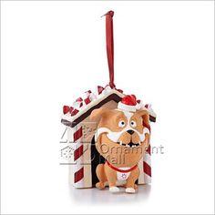 Hallmark 'Peppermint Bark' 2013 Keepsake ornament.