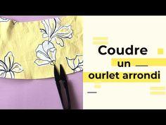 Tutoriel couture : L'ourlet arrondi
