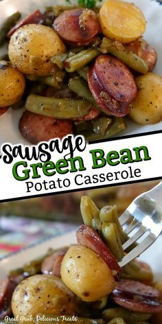 Healthy Meats, Healthy Meat Recipes, Sausage Recipes, Pork Recipes, Cooking Recipes, Healthy Food, Casserole Dishes, Casserole Recipes, Sausage Potato Casserole