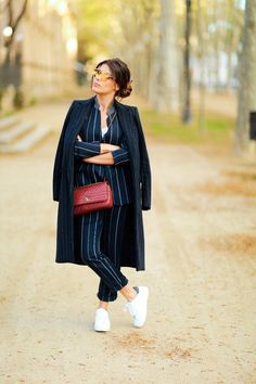 Los mejores looks de Dulceida Basic Outfits, Warm Outfits, Winter Outfits, Cool Street Fashion, Street Style, Business Wear, Suit Fashion, Boho, Casual Chic