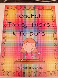 This is a wonderful blog that has great ideas for teacher organization!