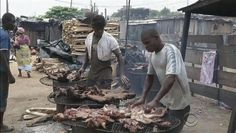 Ebola is thought to have come from bushmeat