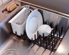 antique metal dish drainer rustic decor farmhouse dish strainer dish drainers antique. Black Bedroom Furniture Sets. Home Design Ideas