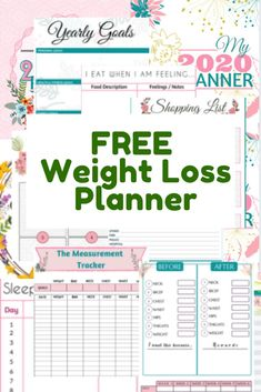 Weight loss planner that will help you gain control of your health with weekly, monthly meal planner, before and after measurement tracking, yearly goal setting. Get started on the right foot this year and accomplish your goals. Weight Loss Chart, Quick Weight Loss Tips, Weight Loss Plans, Health Planner, Fitness Planner, Goals Planner, Monthly Meal Planner, Massage Business, Trying To Lose Weight