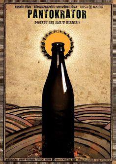 Pantokrator, Beer Promotion, Polish Poster Pantokrator - beer promo  Original Polish poster  designer: Ryszard Kaja  year: 2015