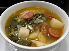 Cooking, History, and Me: My Vovo's Portuguese Soup